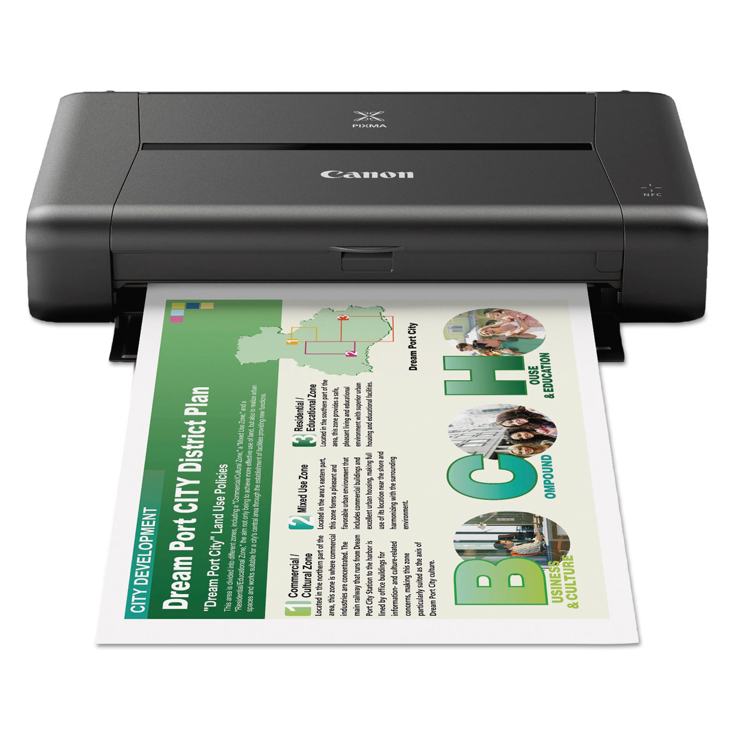 Canon 9596B002 PIXMA IP110 Wireless Mobile Printer by Canon