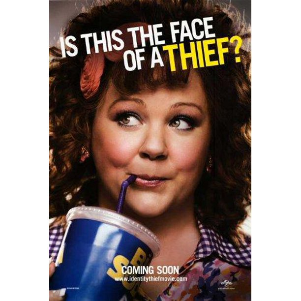 Identity Thief 2013 27x40 Movie Poster Walmart Com Walmart Com