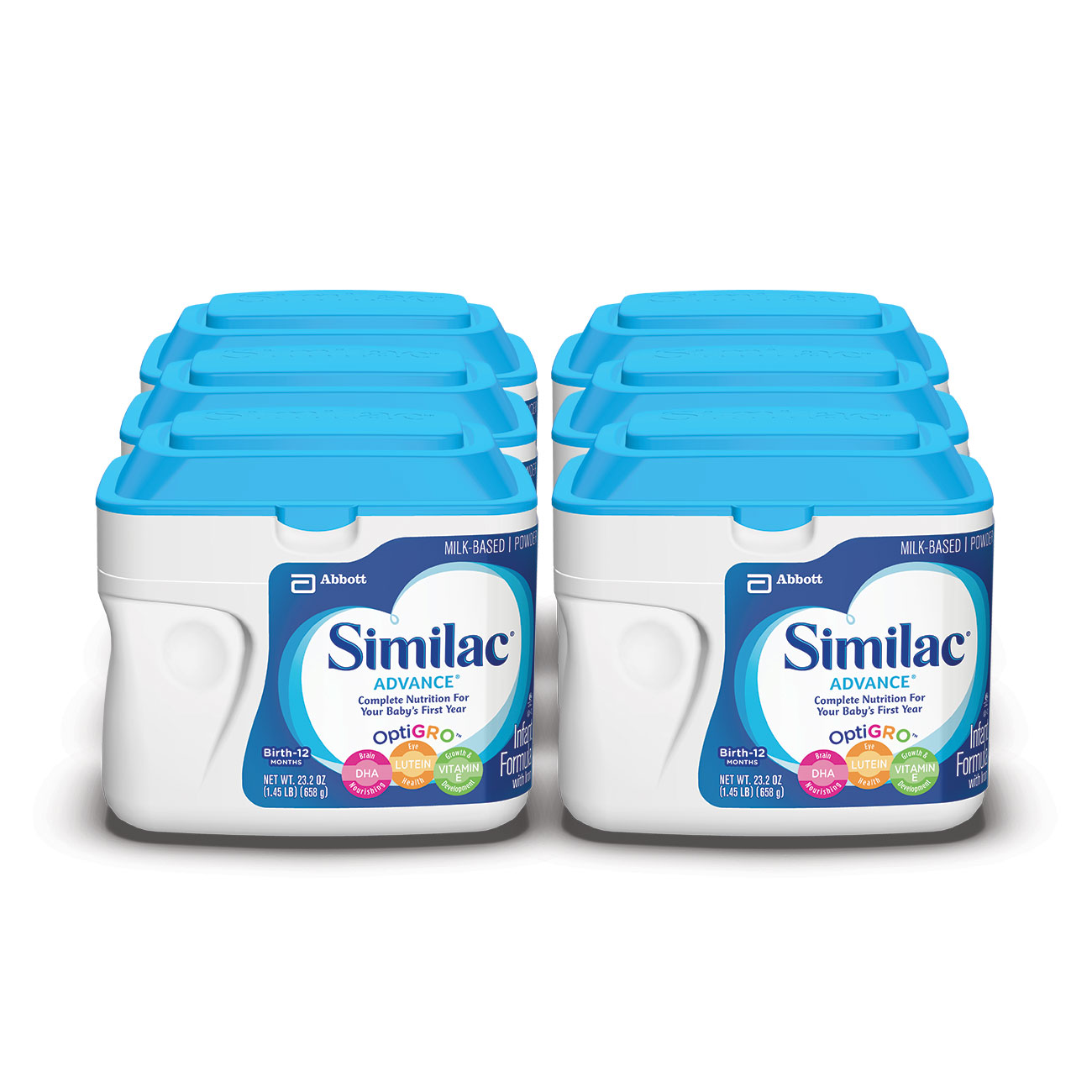 Similac Advance Infant Formula, Powder, 1.45 lb (Pack of 6) by Similac