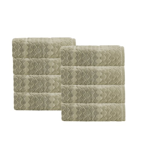 Enchante Home Isola 100pct Cotton Hand Towel (Set of 8)