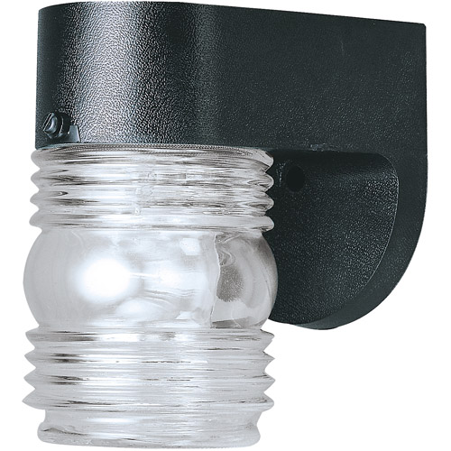 "Westinghouse Lighting 6680000 4-1/2"" Black Wall Lantern"