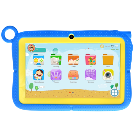 Azpen Wonder Tablet K749 Kids Tablet 7 inch HD screen with Kids UI and App store (Best 3rd Party Android App Store)