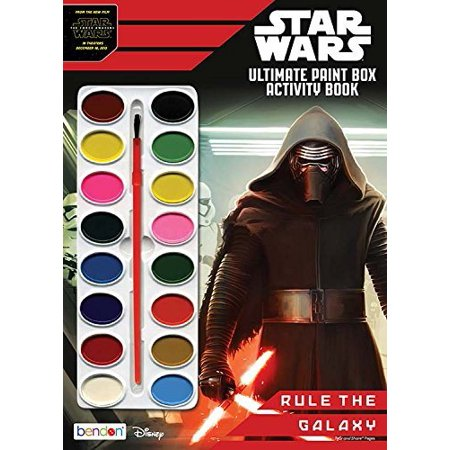 Star Wars Ultimate Paintbox Book to Color