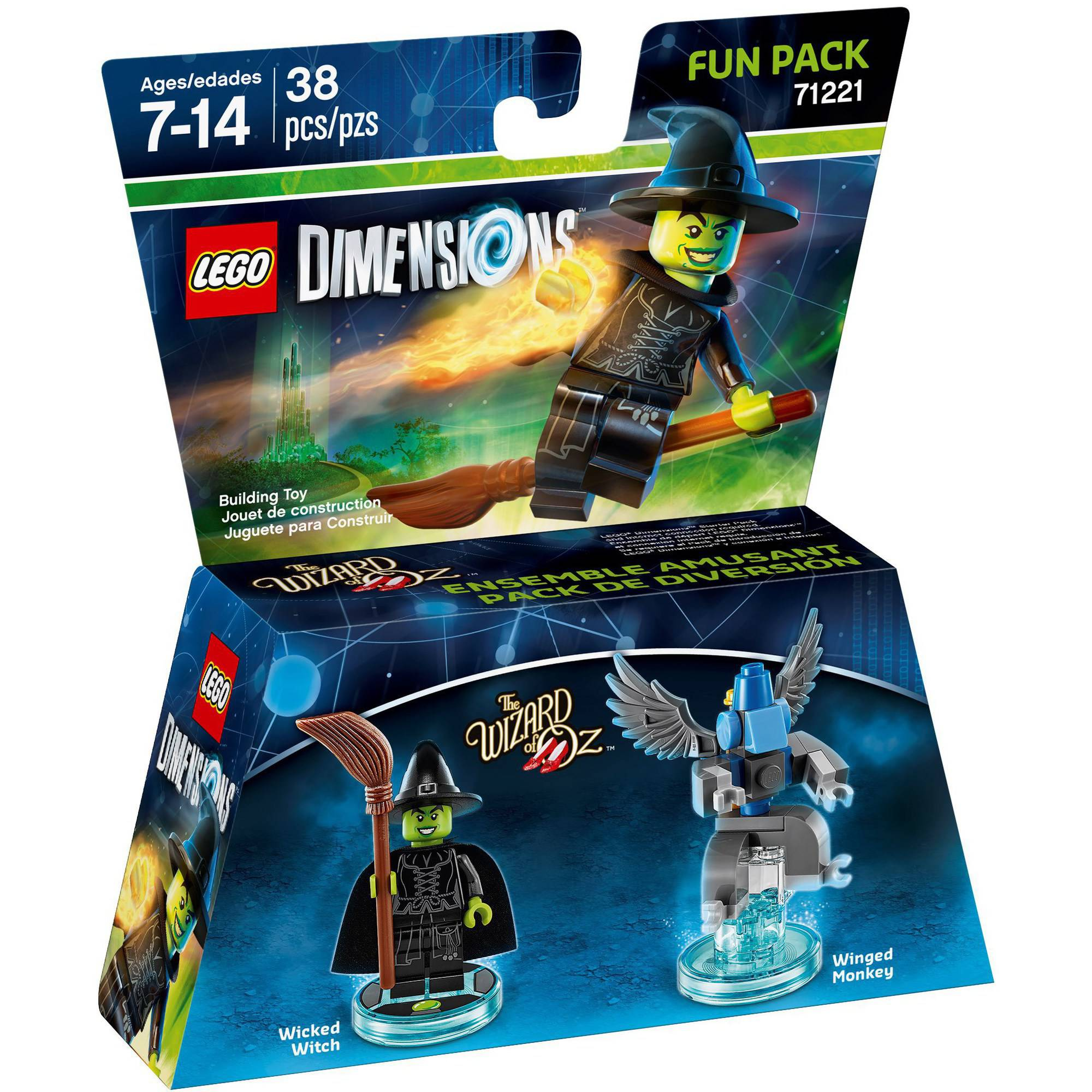 LEGO Dimensions Wicked Witch of the West (Wizard of Oz) Fun Pack (Universal)