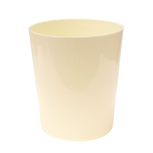 Mainstays Ms Plastic Wastebasket-vanilla Dream