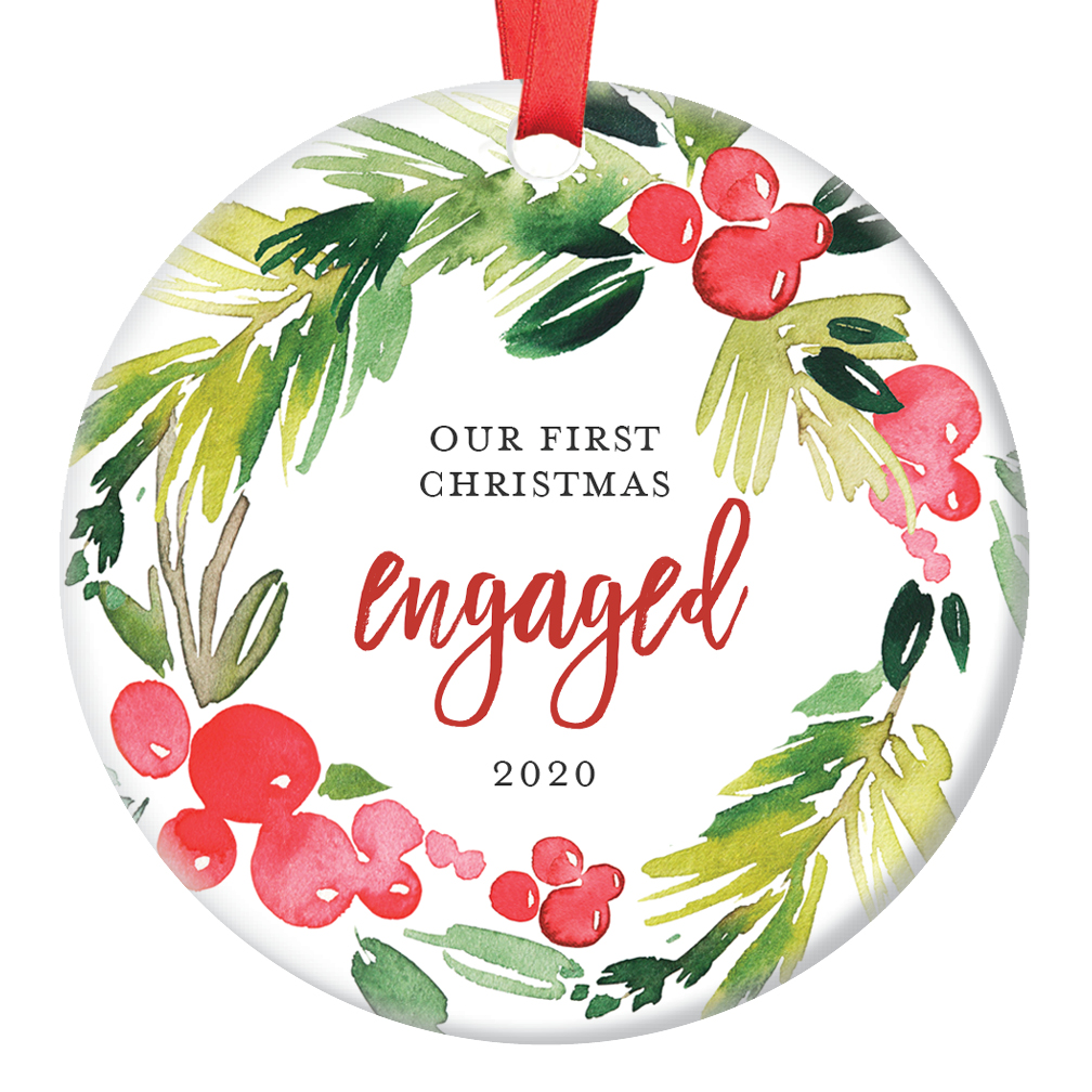 Engagement Christmas Ornament 2020, Gifts for Bride to Be ...