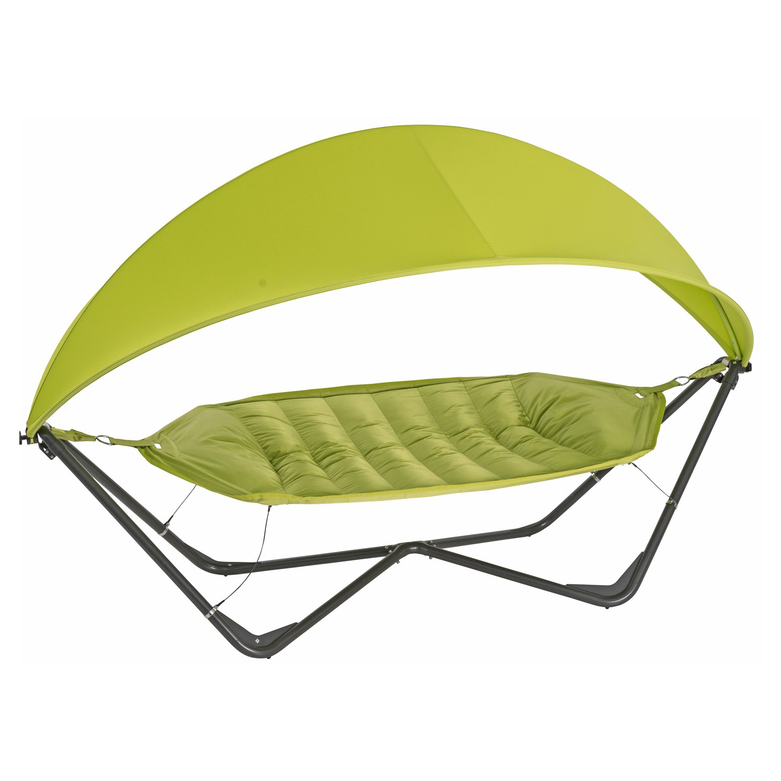 TrueShade Plus 11' x 5' Gondola Hammock with Cover, Apple Green
