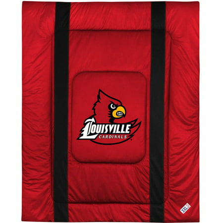University Of Louisville Cardinal Football - NCAA University of Louisville Sidelines Comforter