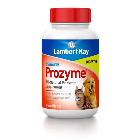 PetAg Prozyme Original All-Natural Enzyme Dog & Cat Supplement, 1 lb. (Prozyme Dogs)