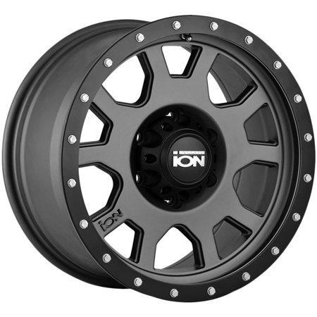 - Ion 135 18x9 6x135 +0mm Gunmetal/Black Wheel Rim 18