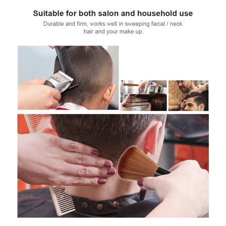 Neck Duster Soft Brush Hairdressing Hair Cutting Salon Stylist Broken Hair Cleaning Tool Barber Hairdressing Cleanser - image 6 of 6