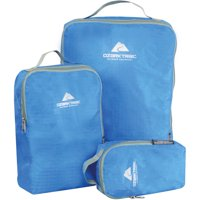 3-Pack Ozark Trail Louwell Packing Cube - Blue / Purple
