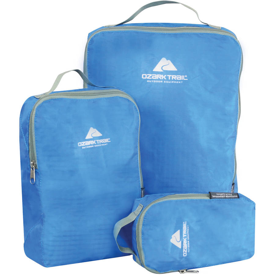 Ozark Trail Packing Cubes, 3pc Set