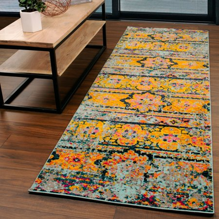 Superior 8mm Pile Height, Durable, Fashionable Zebrina Area Rug, 2'7