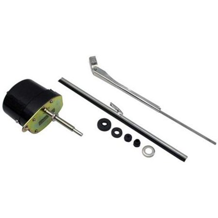 Marine Wiper Motor (Black 12 Volt Electric Windshield Wiper Motor)