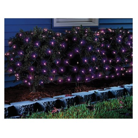Celebrations 34116-71 LED Net Halloween Lights, 100 Count - Mickey's Halloween Celebration 2017