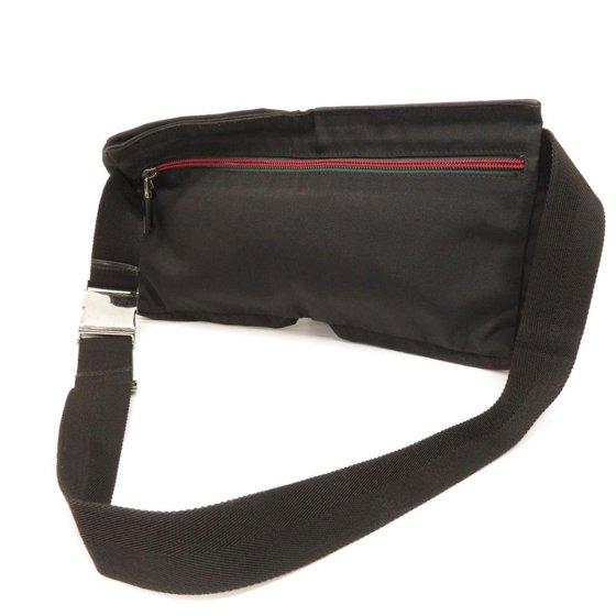 ba31ae63d6f Gucci - Sherry Web Fanny Pack Waist Pouch 868544 Black Nylon Cross ...