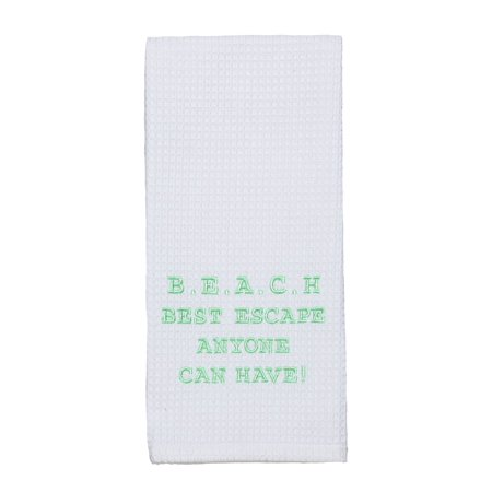 Best Escape Dishtowel - Country Farmhouse Kitchen Funny Dish (Best Towels For Drying Dishes)