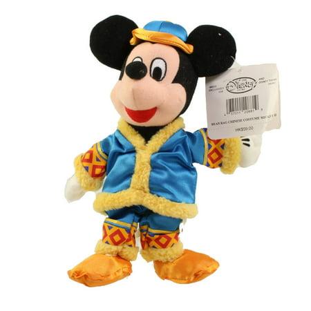 Bean Bag Costume (Disney Bean Bag Plush - CHINESE COSTUME MICKEY (Mickey Mouse) (10)