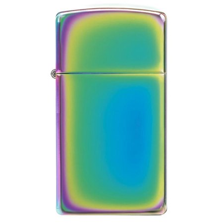 (Zippo 20493 Windproof Lighter Spectrum Finish Slim Case)