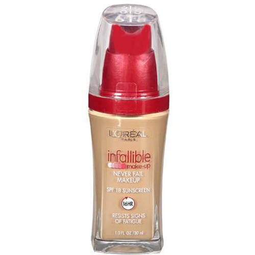 L'Oreal Paris Infallible Never Fail Liquid Makeup with SPF 20