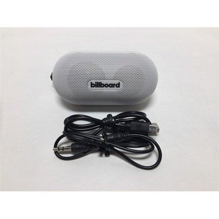 Refurbished Billboard Mini Bluetooth Speaker, White (Billboard Electronic)