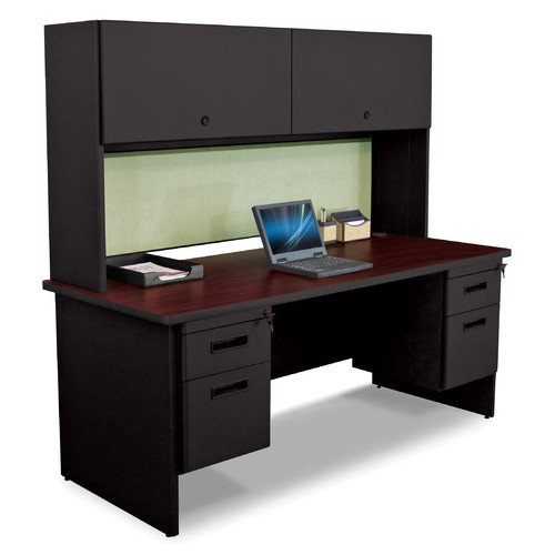 Marvel Office Furniture Pronto Executive Desk with Flipper Door Cabinet