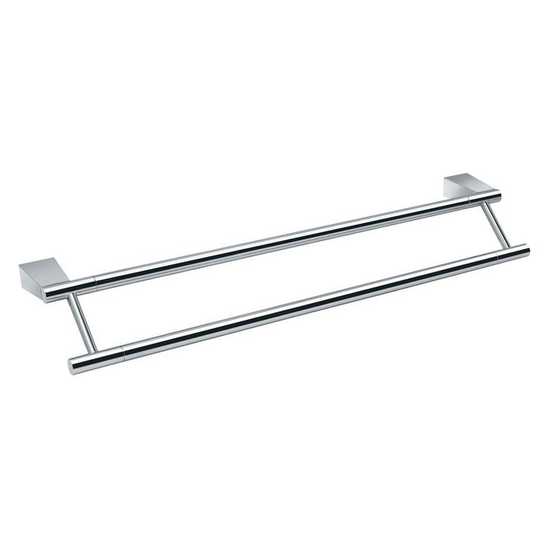 Gatco Bleu Double Towel Bar by Gatco
