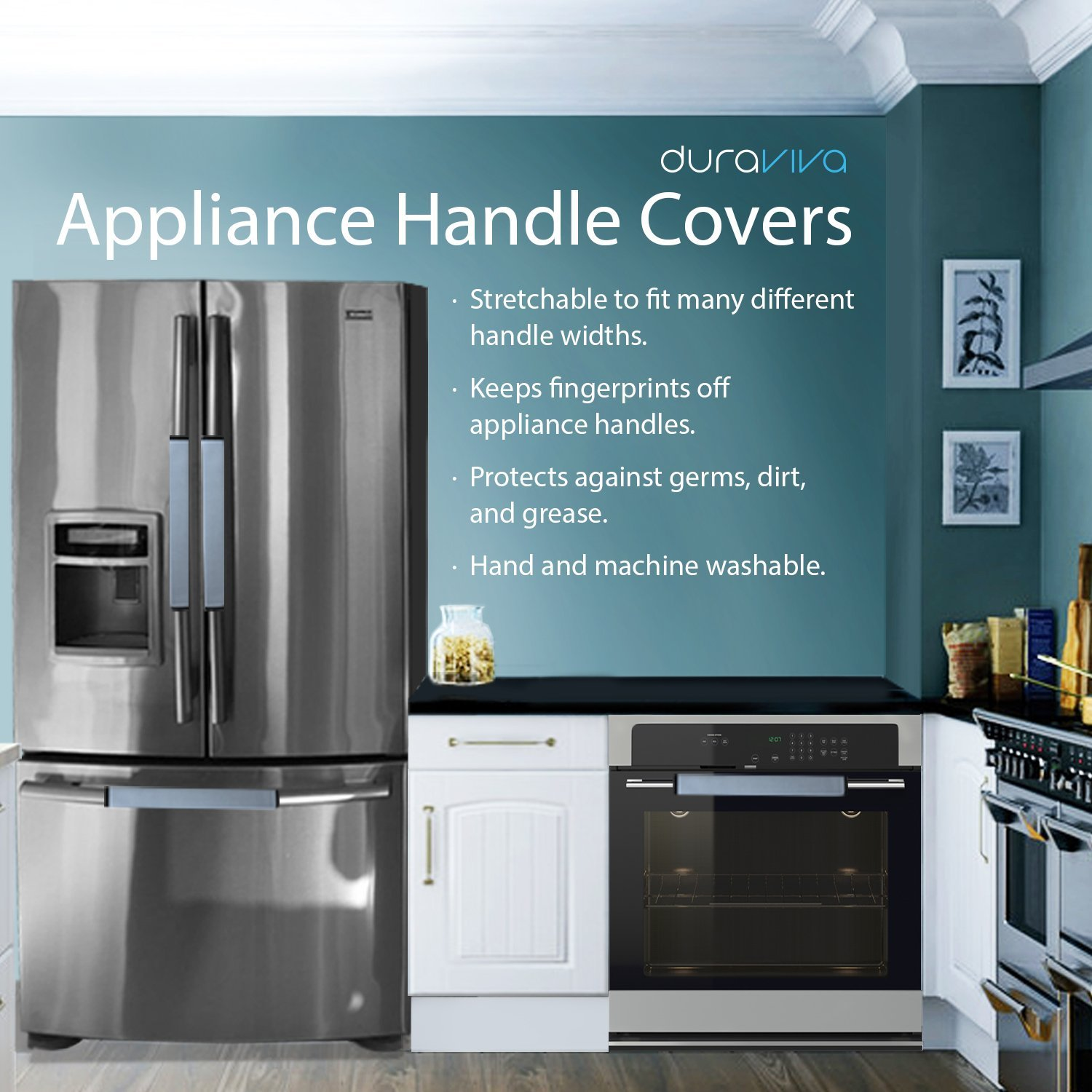 Duraviva Fridge Microwave Appliance Handle Covers - Walmart.com