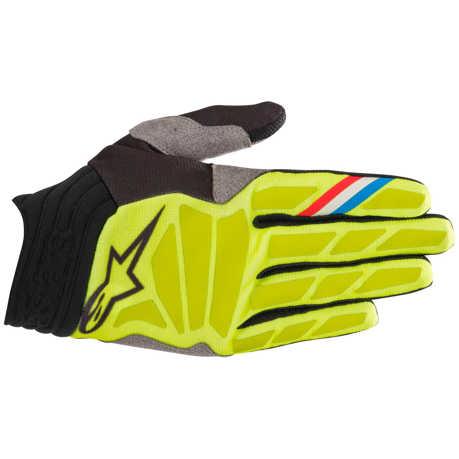 Alpinestars Aviator S9 MX Offroad Gloves Yellow/Black