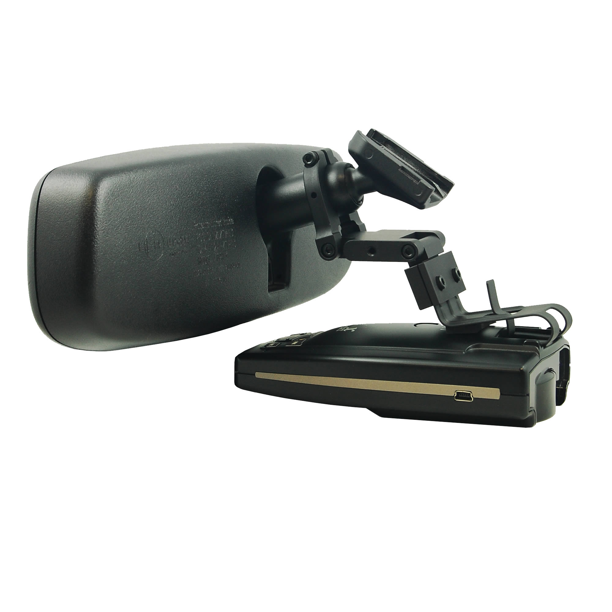 BlendMount BBE-2000R Radar Detector Mount for Escort/Beltronics, Compatible with Most