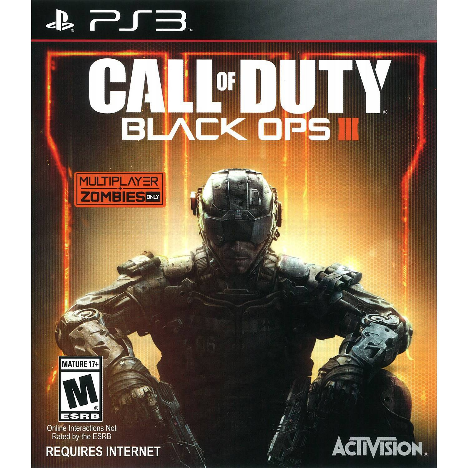 Call of Duty: Black Ops 3, Activision, PlayStation 3, 047875874541