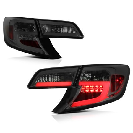 - VIPMotoZ 2012-2014 Toyota Camry LED Off-Road Smoke Lens Tail Lights, Driver & Passenger Side