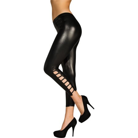 Wet Look Costume Leggings Adult