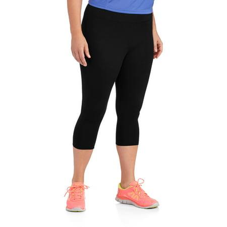 Danskin Now Womens Plus Size Dri More Capri Core Legging
