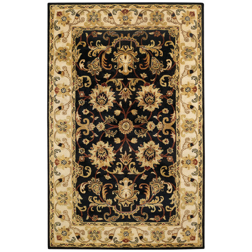 Capel Rugs Guilded Onyx Black Area Rug
