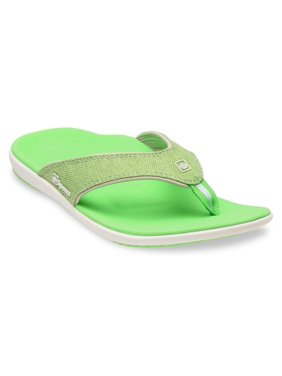 aa755ad0fad4 Product Image Spenco Yumi Canvas Lizard Women s Total Support Sandals Thong  Flip Flops