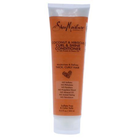 SheaMoisture Coconut and Hibiscus Curl and Shine Conditioner - 10.3 oz