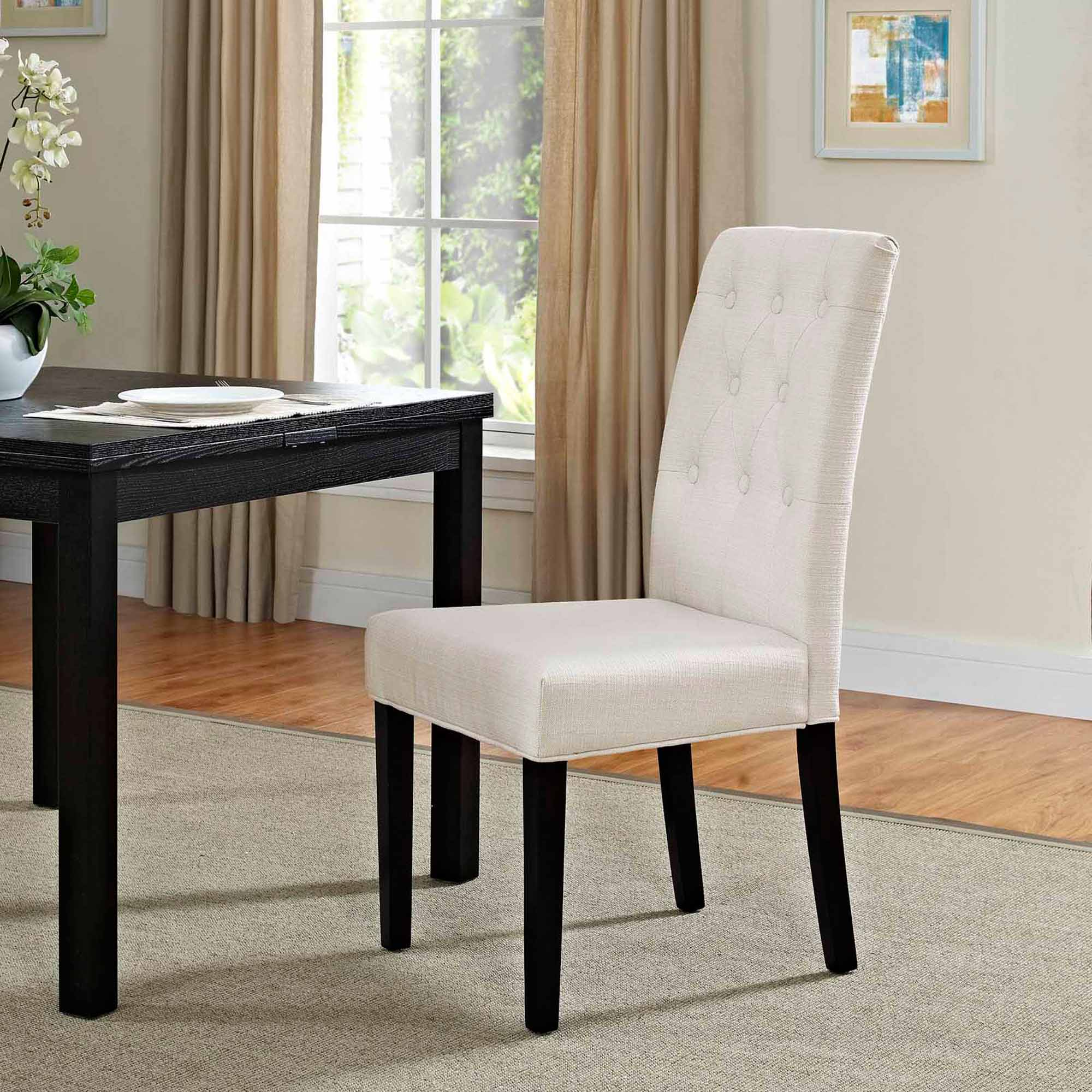 Modway Confer Dining Fabric Side Chair Multiple Colors Walmart