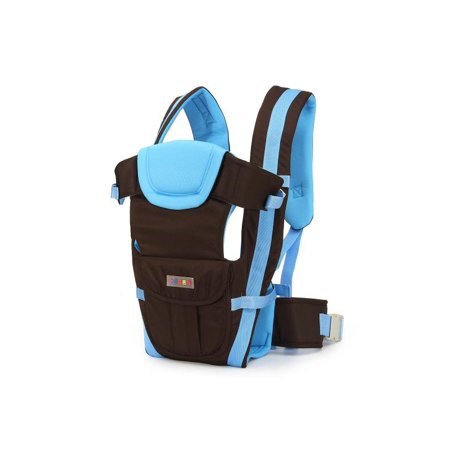 Infant Newborn Baby Wrap - Professional 4 Carrying Positions Comfort Newborn Infant Baby Toddlers Carrier Breathable Ergonomic Adjustable Wrap Rider Sling Backpack Khaki, Blue, Pink all Season