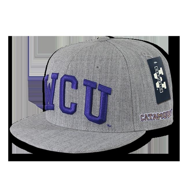W Republic Game Day Snapback Western Carolina University, Heather Grey
