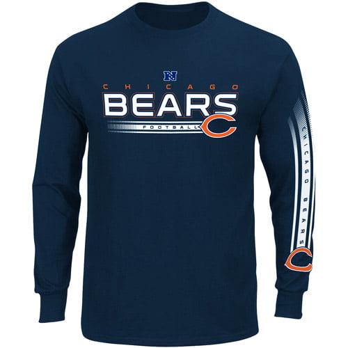 NFL - Big Men's Chicago Bears Long Sleeve Team Tee