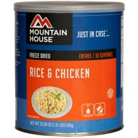 Mountain House Freeze Dried Rice and Chicken Can