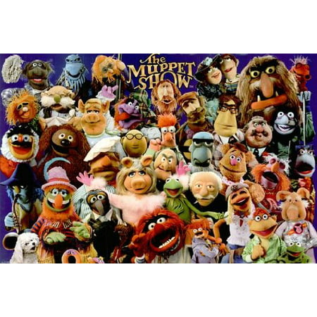 The Muppet Show Poster Full Cast New 24x36