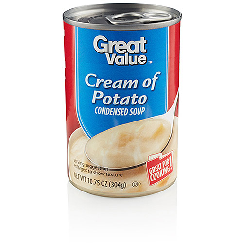 Great Value Cream Of Potato Condensed Soup, 10.75 oz