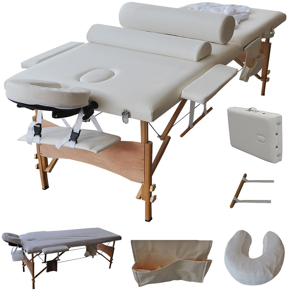 "Ktaxon 84"" Length Portable Massage Tables / Bed Set, Perf..."