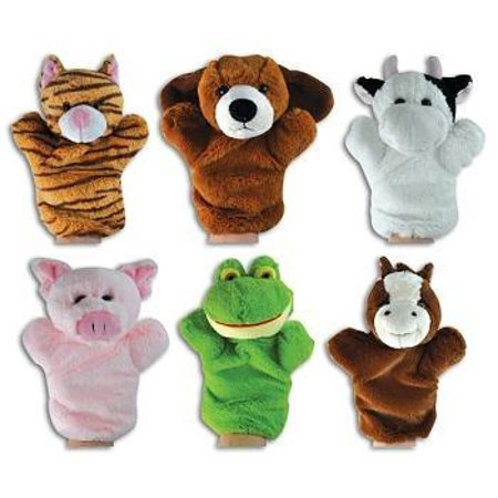 SOUND PUPPETS (BAG OF 6)](Paper Bag Puppets)