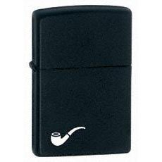 Small Zippo Windproof Pipe Zippos Lighter For Cigarette  - Black Matte