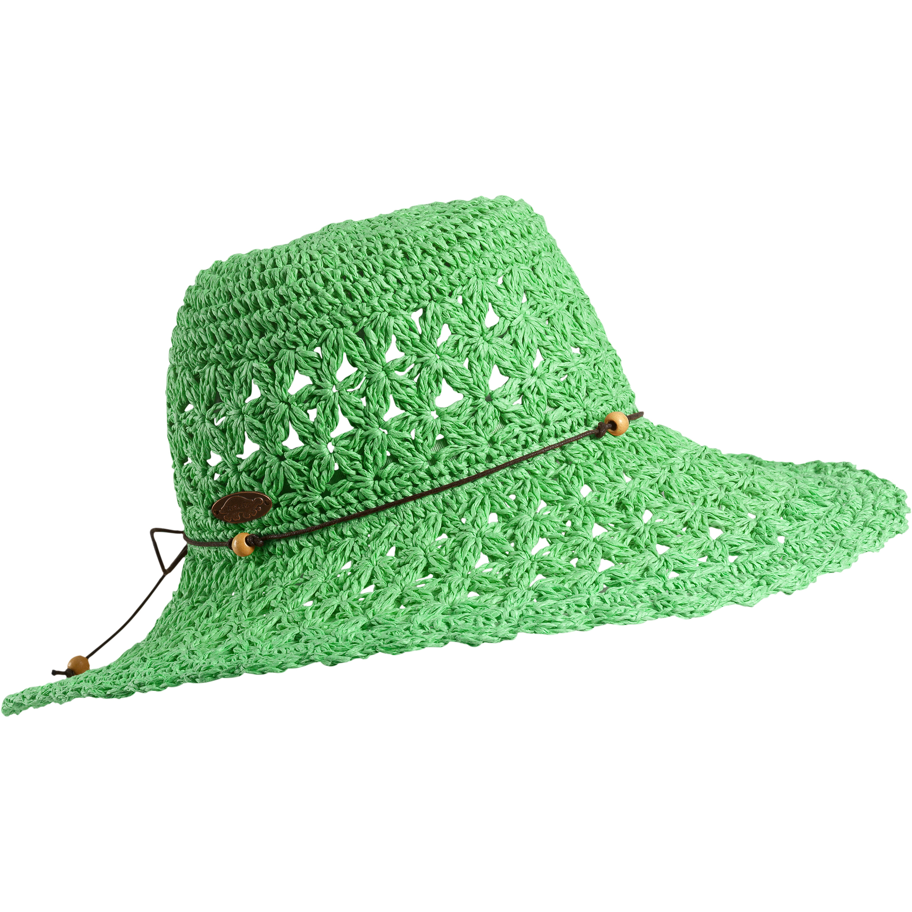 Turtle Fur Chara Women's Floppy Oversized Brim Straw Beach Sun Hat Vermont Collection Sun Style