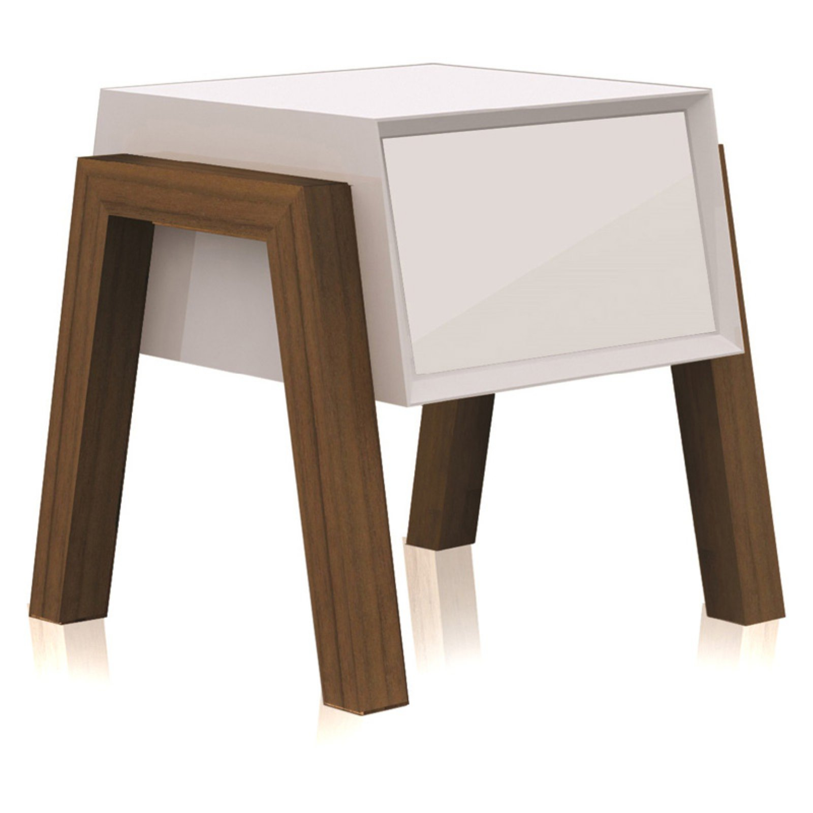Casabianca Home Figo 1 Drawer Nightstand